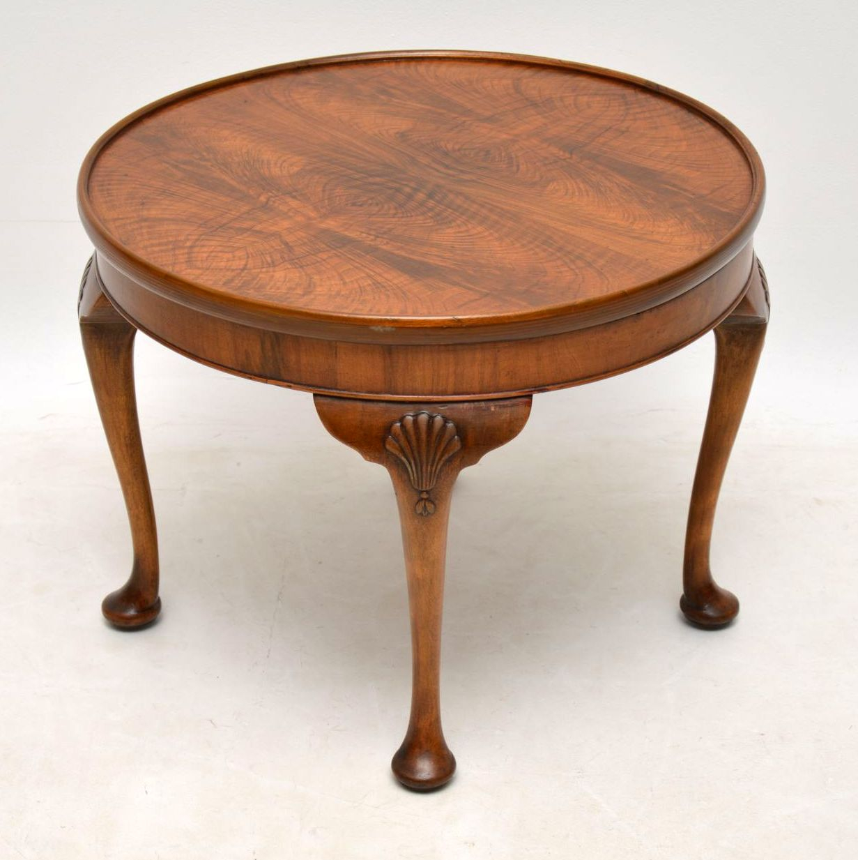 Antique Figured Walnut Coffee Table Marylebone Antiques Sellers intended for measurements 1231 X 1233