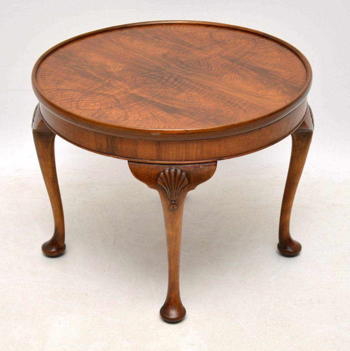 Antique Figured Walnut Coffee Table Marylebone Antiques Sellers regarding sizing 1231 X 1233