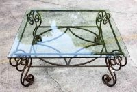 Antique Wrought Iron Table Bases Antique Copper Wrought Iron Base throughout proportions 1280 X 918