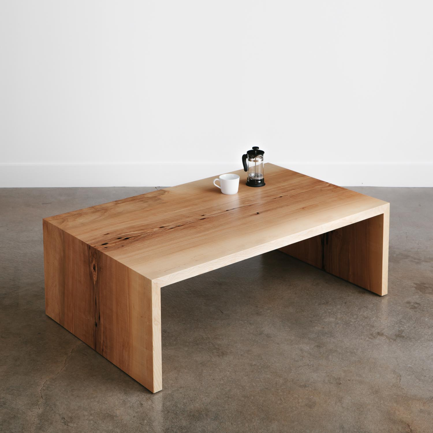Ash Coffee Table Elko Hardwoods Modern Live Edge Furniture with regard to sizing 1500 X 1500