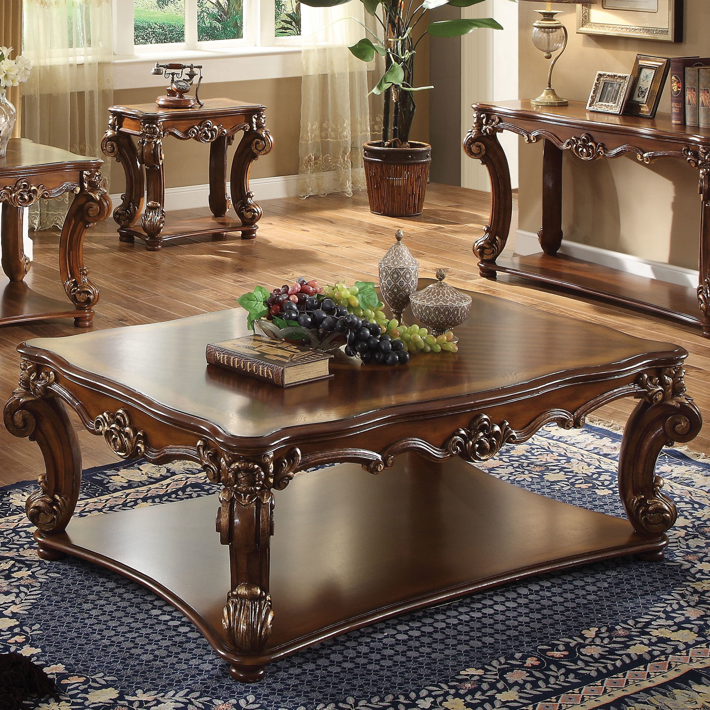 Astoria Grand Welles Traditional Coffee Table Reviews Wayfair throughout dimensions 2371 X 2371