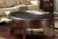 Awesome Round Coffee Tables With Storage Homesfeed intended for proportions 1200 X 1200