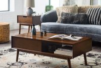 Belham Living Campbell Mid Century Modern Lift Top Coffee Table throughout measurements 1600 X 1600