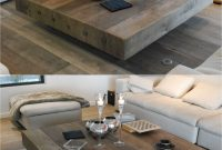 Big Square Coffee Table Wood Hipenmoedernl within sizing 1602 X 2145