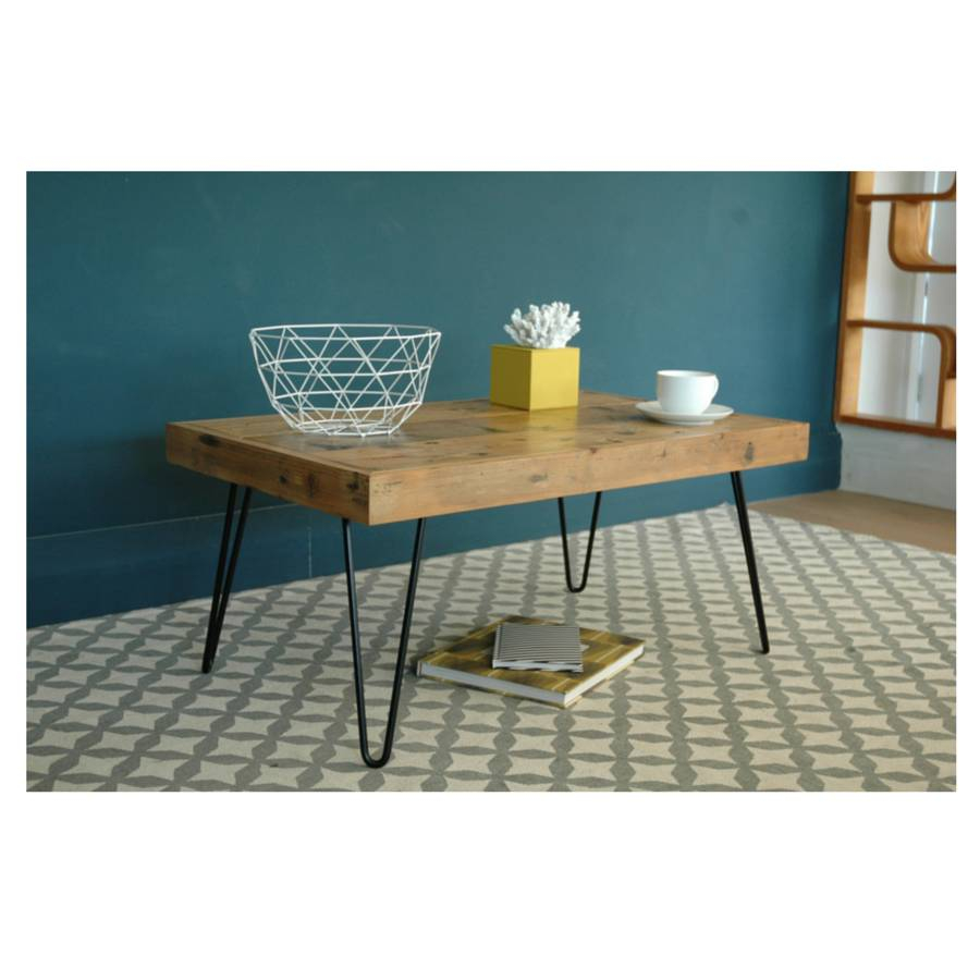 Billy Coffee Table With Hairpin Legs Renn Uk Notonthehighstreet throughout dimensions 900 X 900