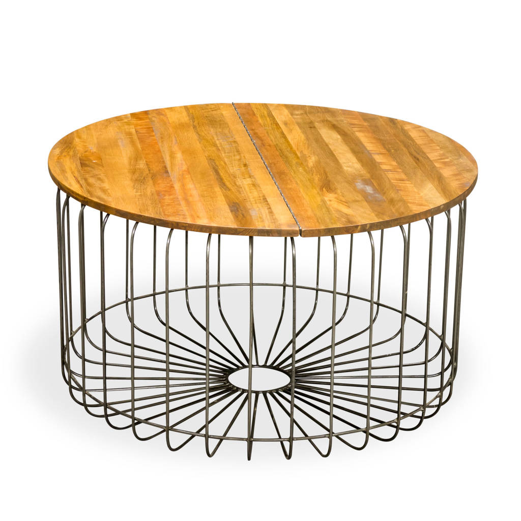 Birdcage Round Storage Coffee Table The Orchard Furniture pertaining to sizing 1024 X 1024