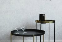 Black And Brass Side Tables At Rose Grey pertaining to measurements 1000 X 1300