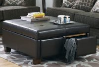 Black Leather Ottoman Coffee Table Coffee Tables Leather Ottoman pertaining to size 2000 X 1600