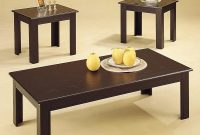 Black Wood Coffee Table Set Steal A Sofa Furniture Outlet Los regarding size 1414 X 1414