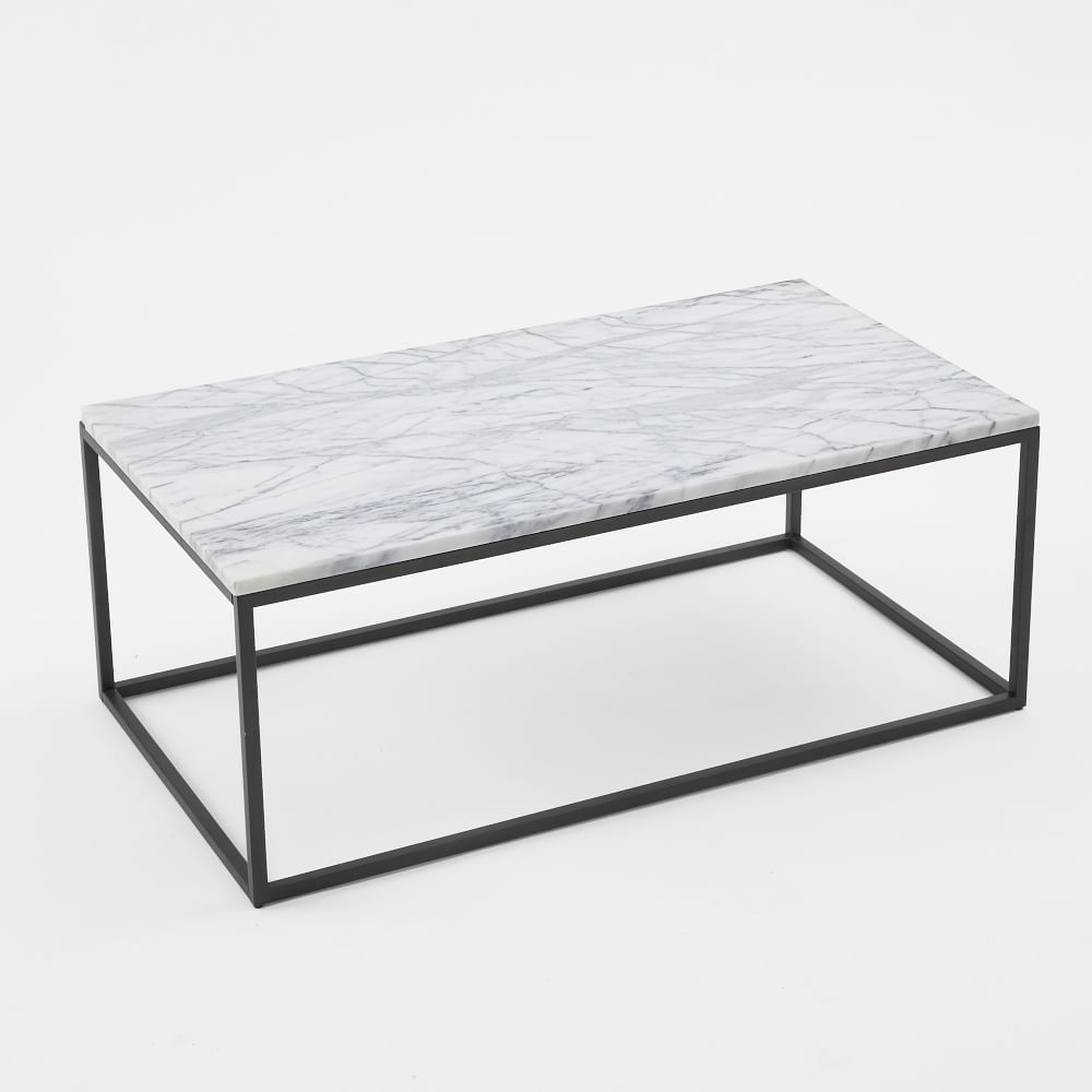 Box Frame Coffee Table Marble Lounge Marble Top Coffee Table pertaining to measurements 1000 X 1000