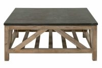 Candelabra Home Blue Stone Square Coffee Table Candelabra Inc pertaining to measurements 1200 X 1200