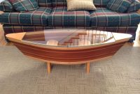 Canoe Coffee Table Boat Shelf 5ft Canoe Shaped Coffee Sofa Table regarding size 2592 X 1936