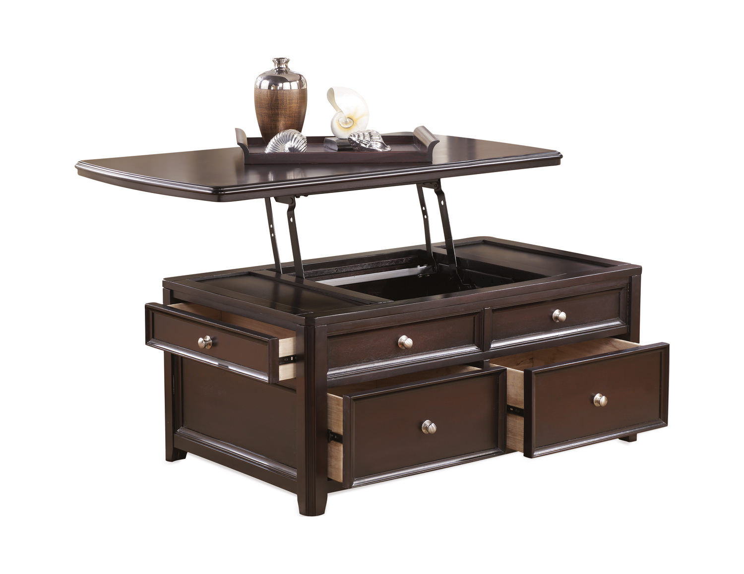 Carlyle Lift Top Coffee Table Hom Furniture regarding sizing 1500 X 1157