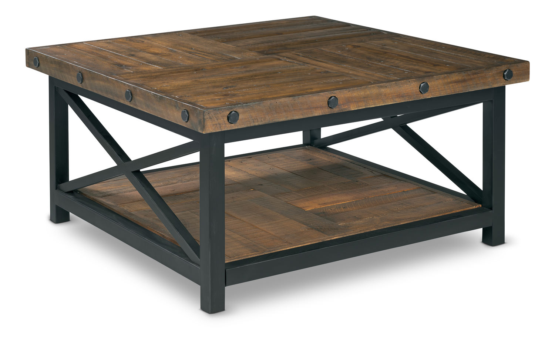 Carpenter Square Coffee Table Flexsteel Hom Furniture inside size 1500 X 929