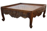 Carved French Country Square Coffee Table Baker Furniture For inside dimensions 3000 X 3000