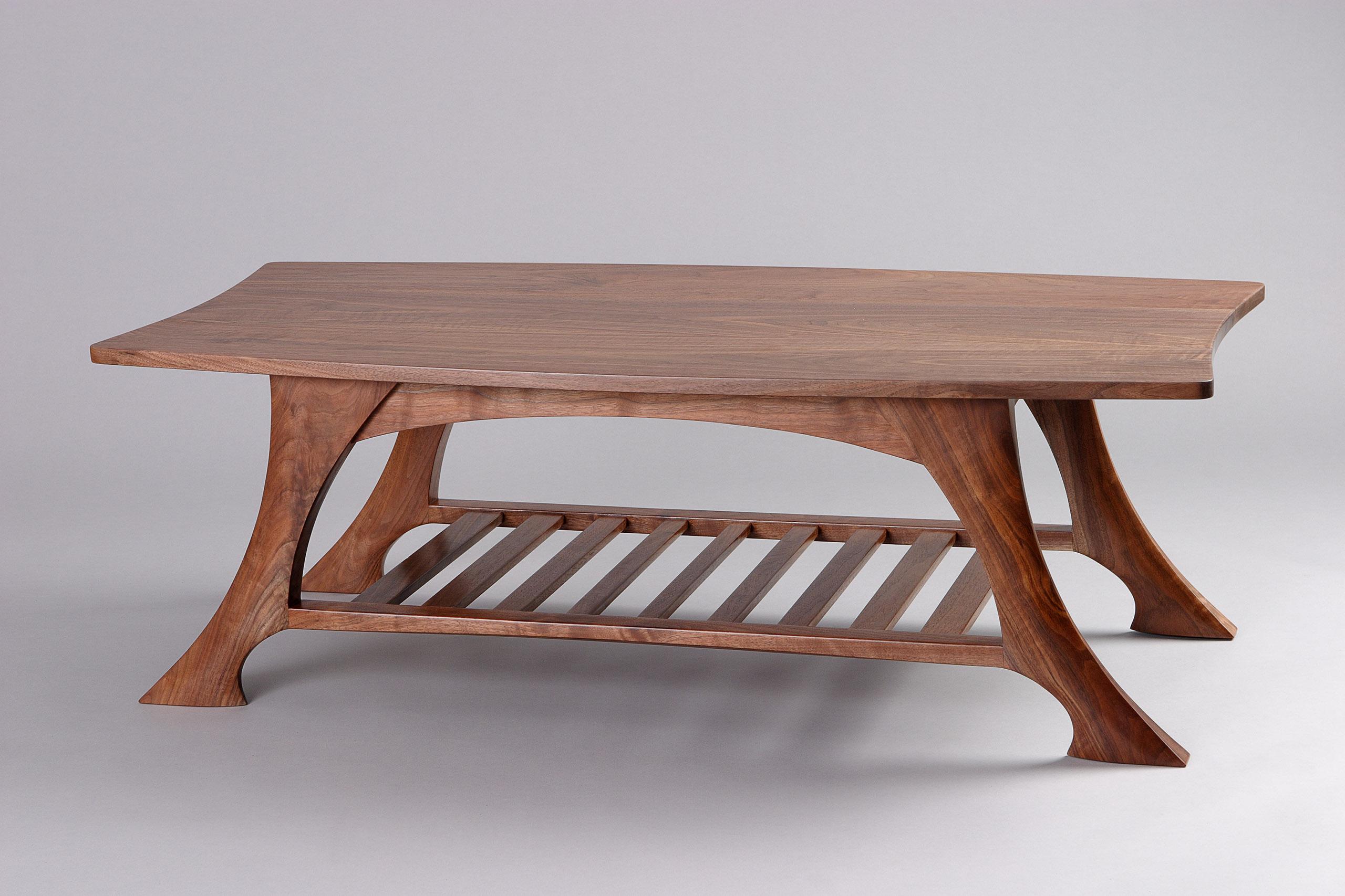 Casa Grande Coffee Table Black Walnut Solid Wood Seth Rolland for proportions 2560 X 1707