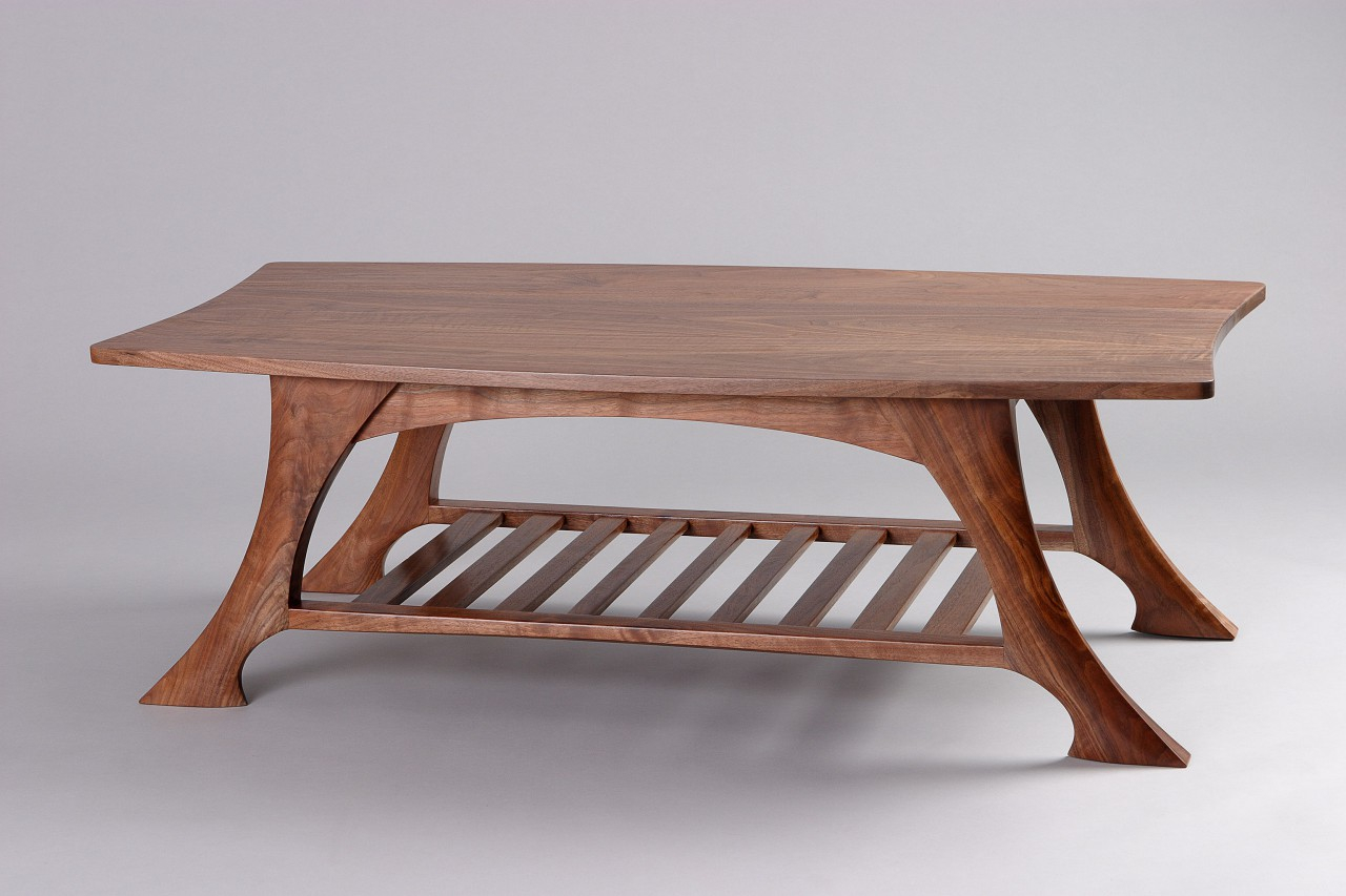 Casa Grande Coffee Table Black Walnut Solid Wood Seth Rolland regarding size 1280 X 853