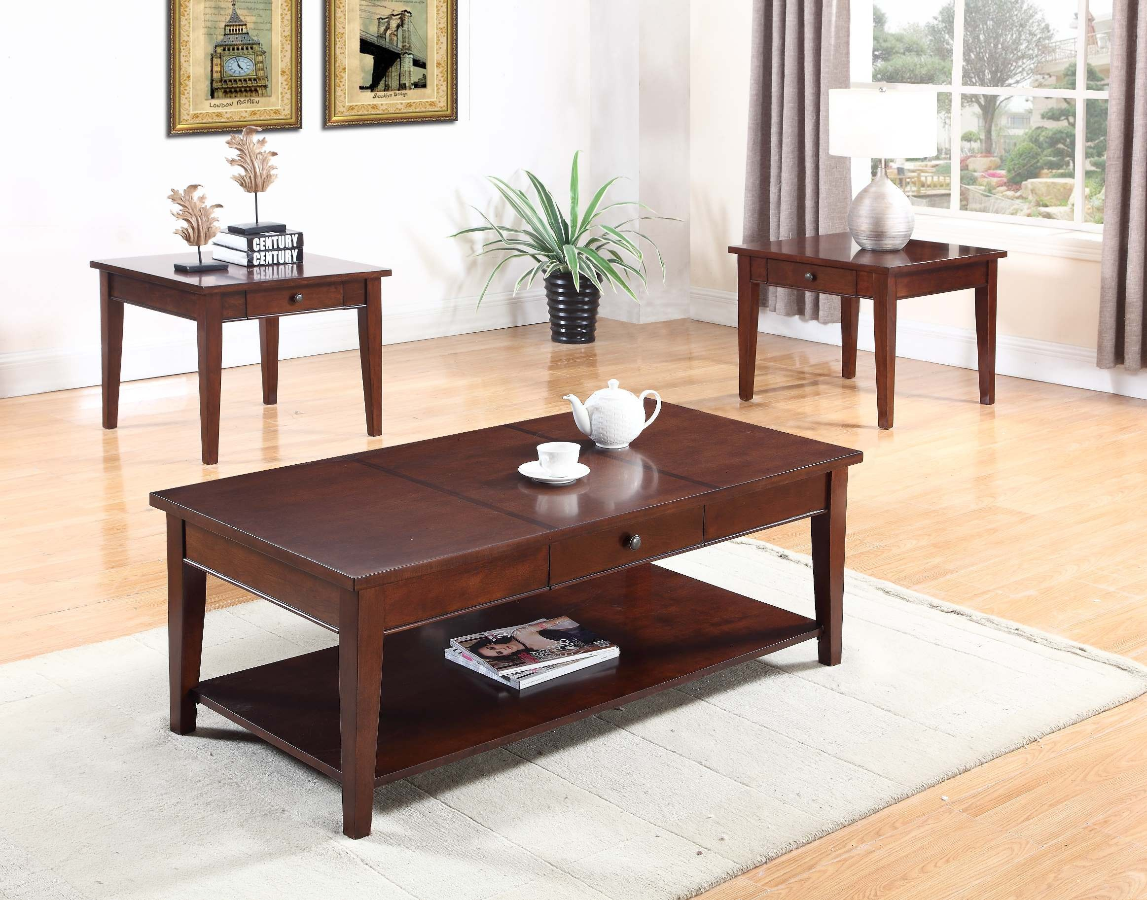 Chocolate Brown Coffee Tablegl7853 251coffee Table within size 2326 X 1826