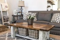 Chunky Farmhouse Coffee Table 3 Steps With Pictures for proportions 960 X 954