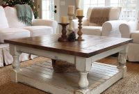Chunky Farmhouse Coffee Table Pictures Decor Decorating Coffee in size 1024 X 1024