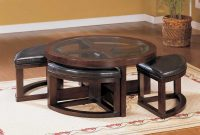 Circle Coffee Table With Seats Rascalartsnyc throughout sizing 1110 X 900