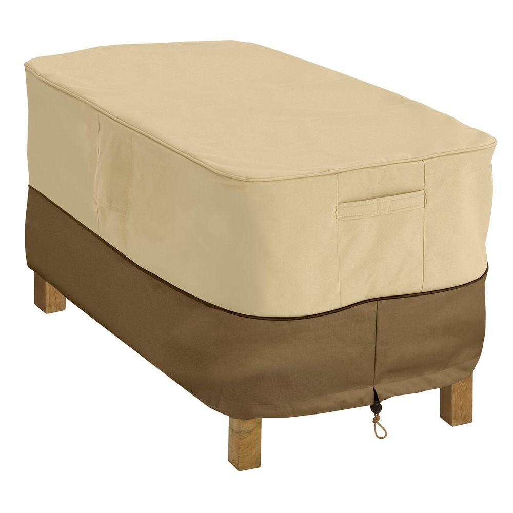 Classic Accessories Veranda Rectangular Patio Coffee Table Cover 55 for measurements 1000 X 1000