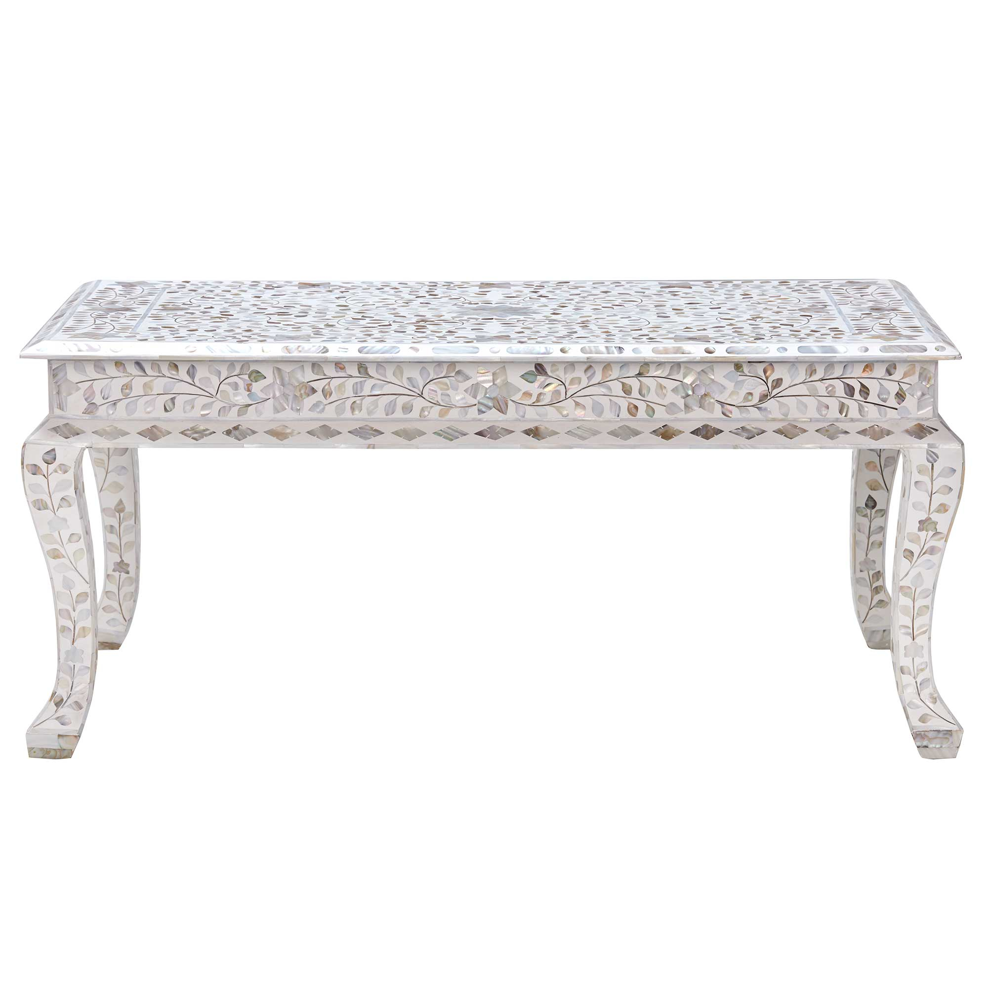 Clipper Coffee Table Mother Of Pearl Barker Stonehouse with measurements 2000 X 2000