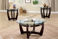 Coaster Furniture 3 Piece Glass Top Coffee Table Set Walmart in proportions 1600 X 1600