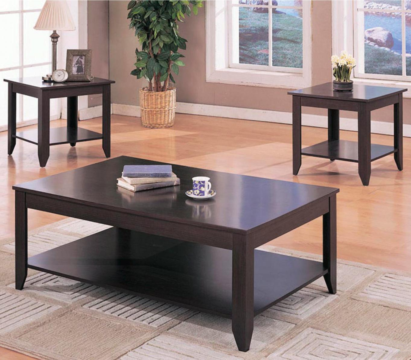 Coaster Occasional Table Sets 700285 Contemporary 3 Piece Occasional pertaining to size 1362 X 1193