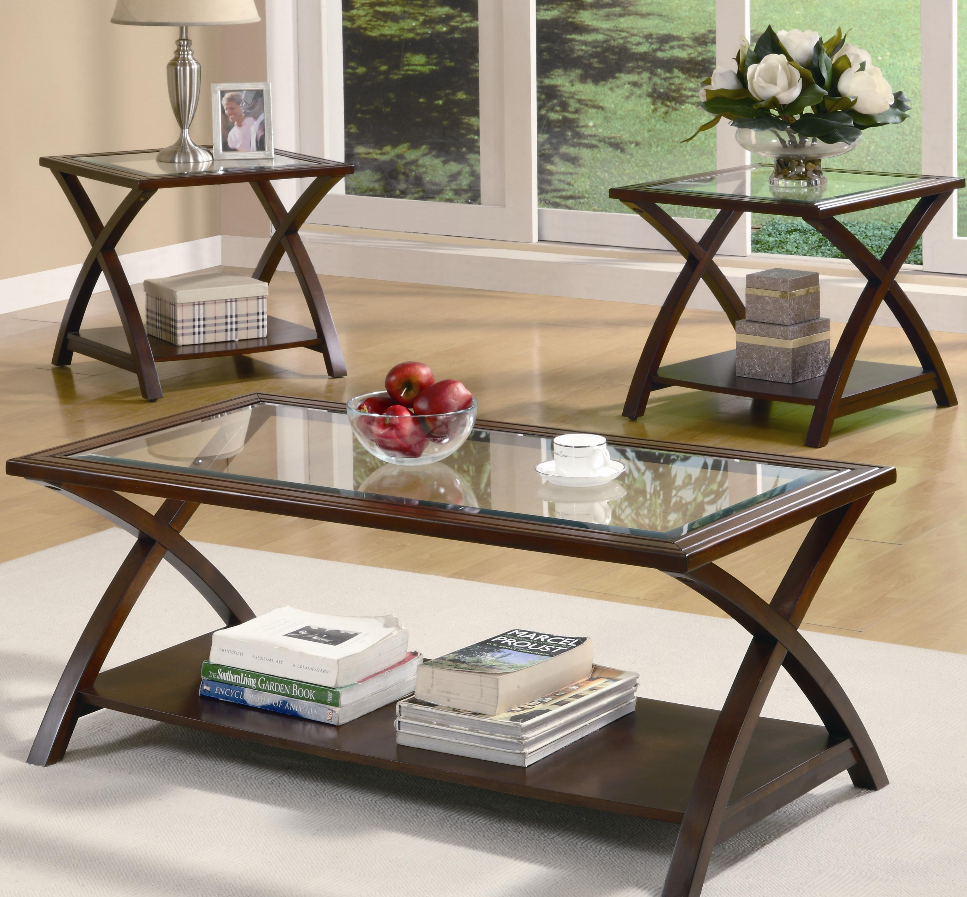 Coaster Occasional Table Sets 701527 Coffee Table And End Table Set throughout size 3380 X 3136