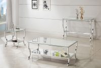 Coaster Walling 3pc Chrome Coffee Table Set Dallas Tx Occasional pertaining to dimensions 1708 X 1178