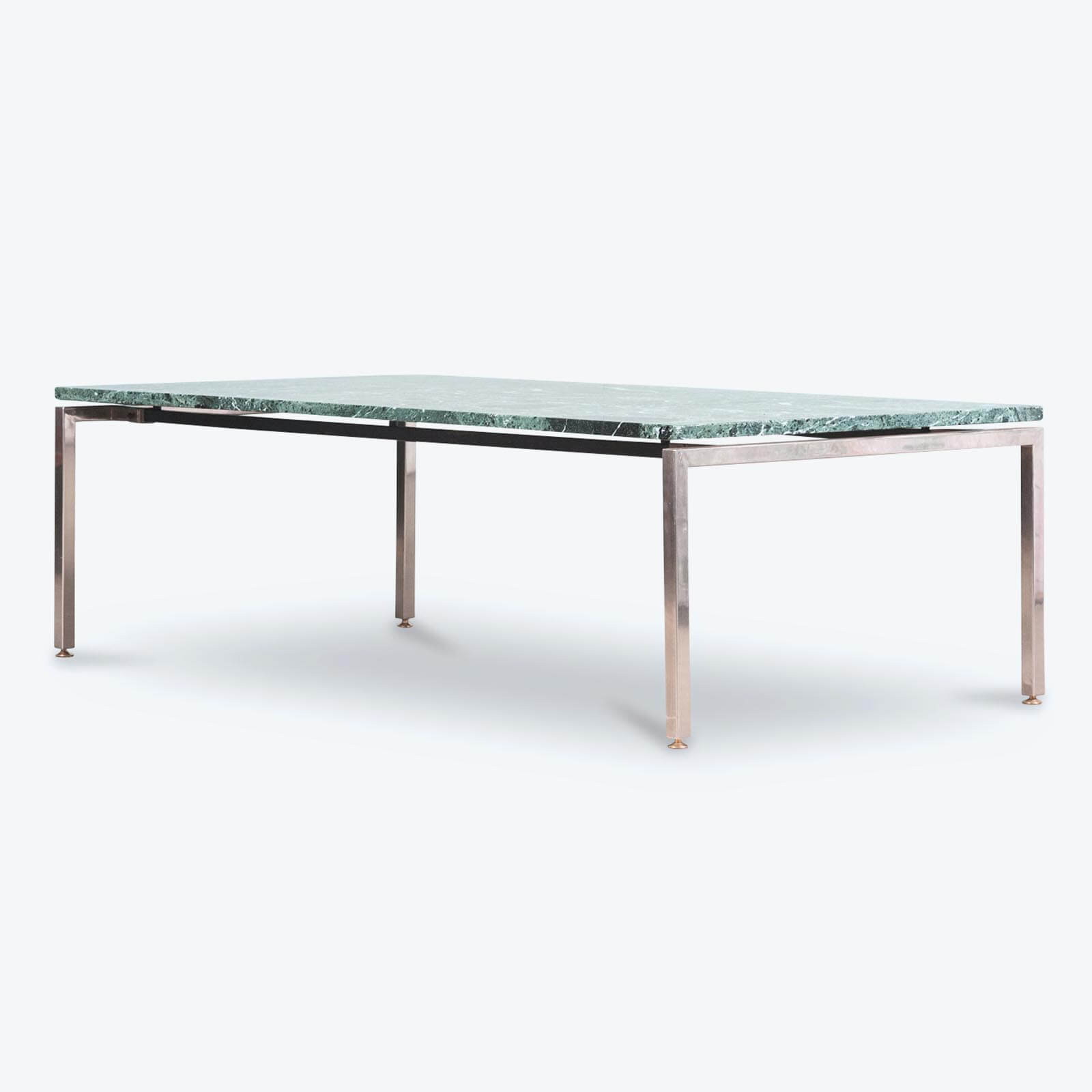Coffee Table In Green Marble With Chrome Legs 1960s Netherlands regarding sizing 1600 X 1600