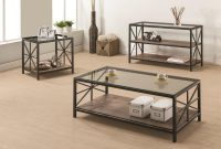 Coffee Tables Rustic Metal Coffee Table Co 701398 intended for sizing 4000 X 2783