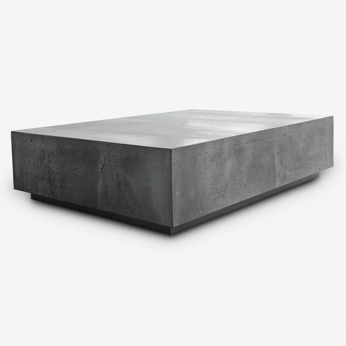 Concrete Coffee Table Th2studio regarding proportions 1200 X 1200