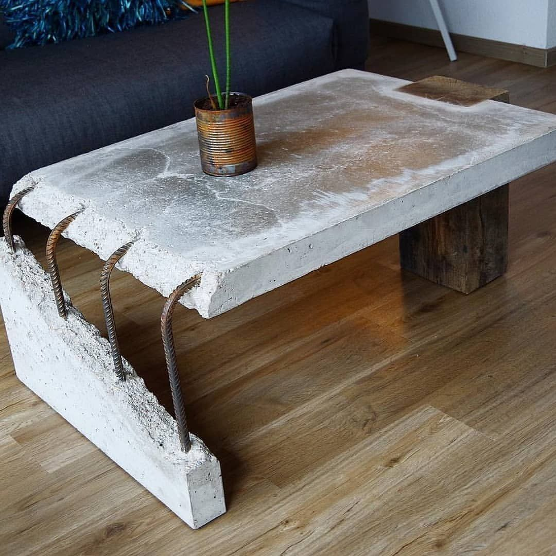 Concrete Wood Coffee Table Stephan Schmitz Tag Your Friends with size 1080 X 1080