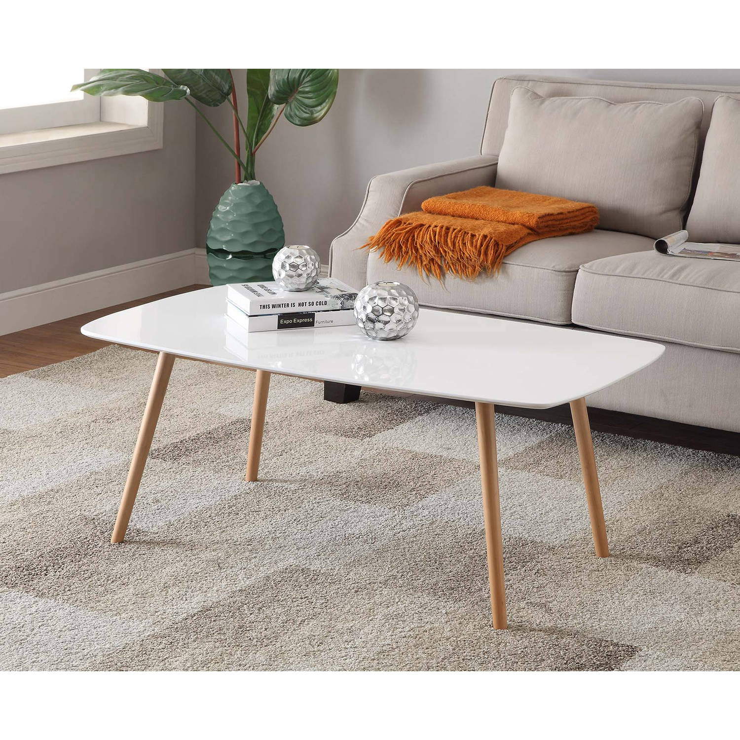 Convenience Concepts No Tools Oslo Coffee Table Multiple Colors intended for sizing 1500 X 1500