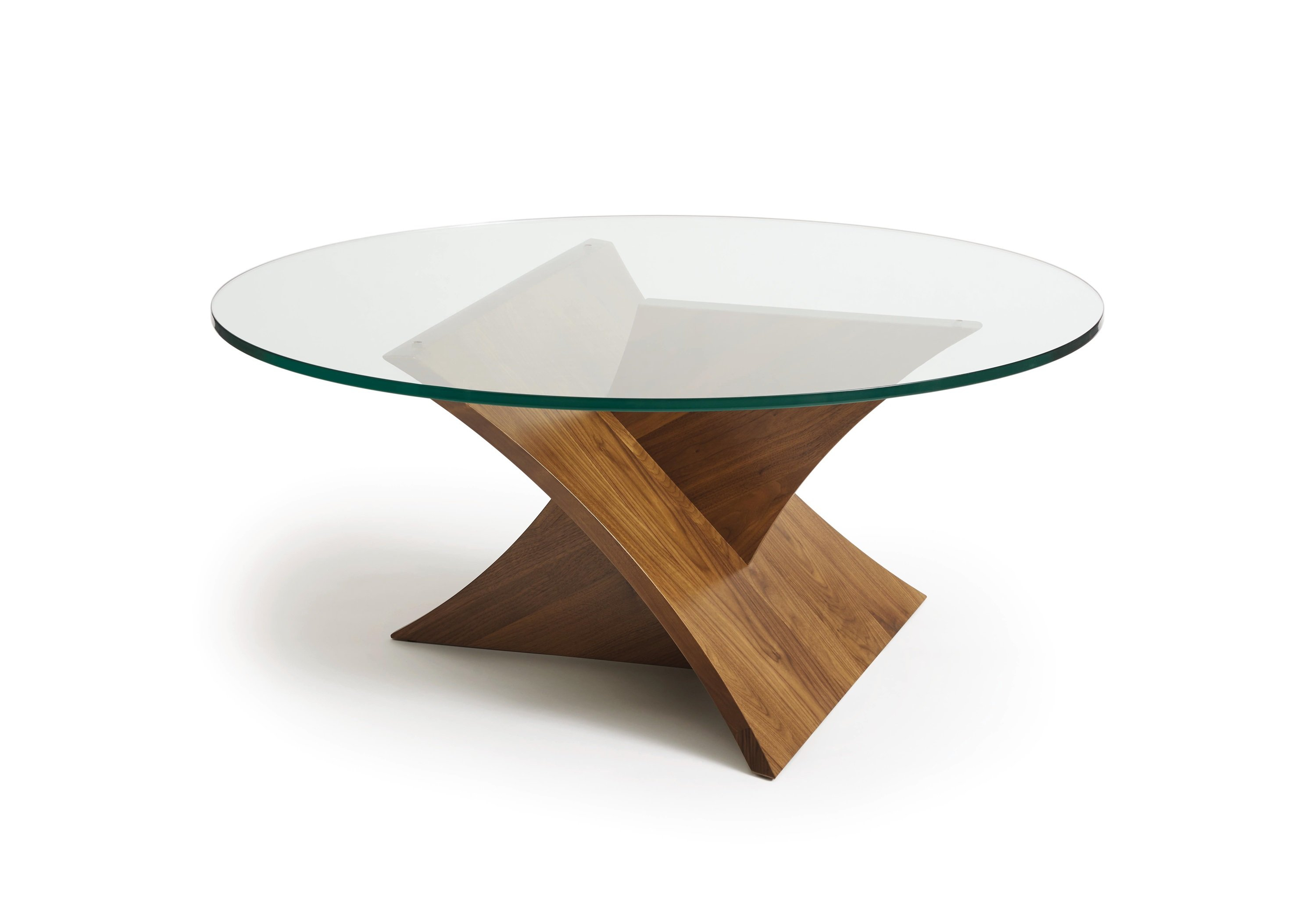 Copeland Furniture Planes Glass Top Coffee Table Wayfair pertaining to proportions 3000 X 2045