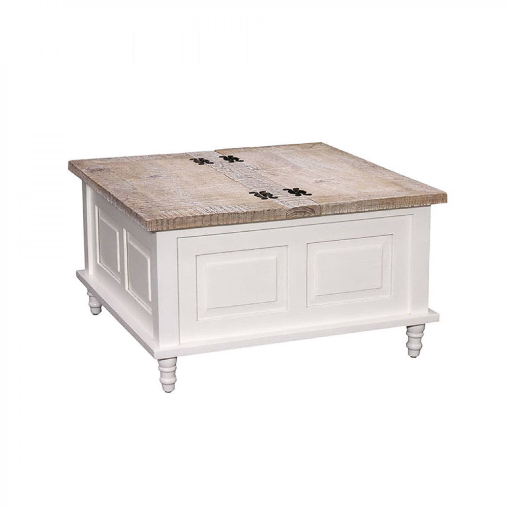 Cottonwood Square Coffee Table Storage Trunk 80 X 80 in measurements 1750 X 1750
