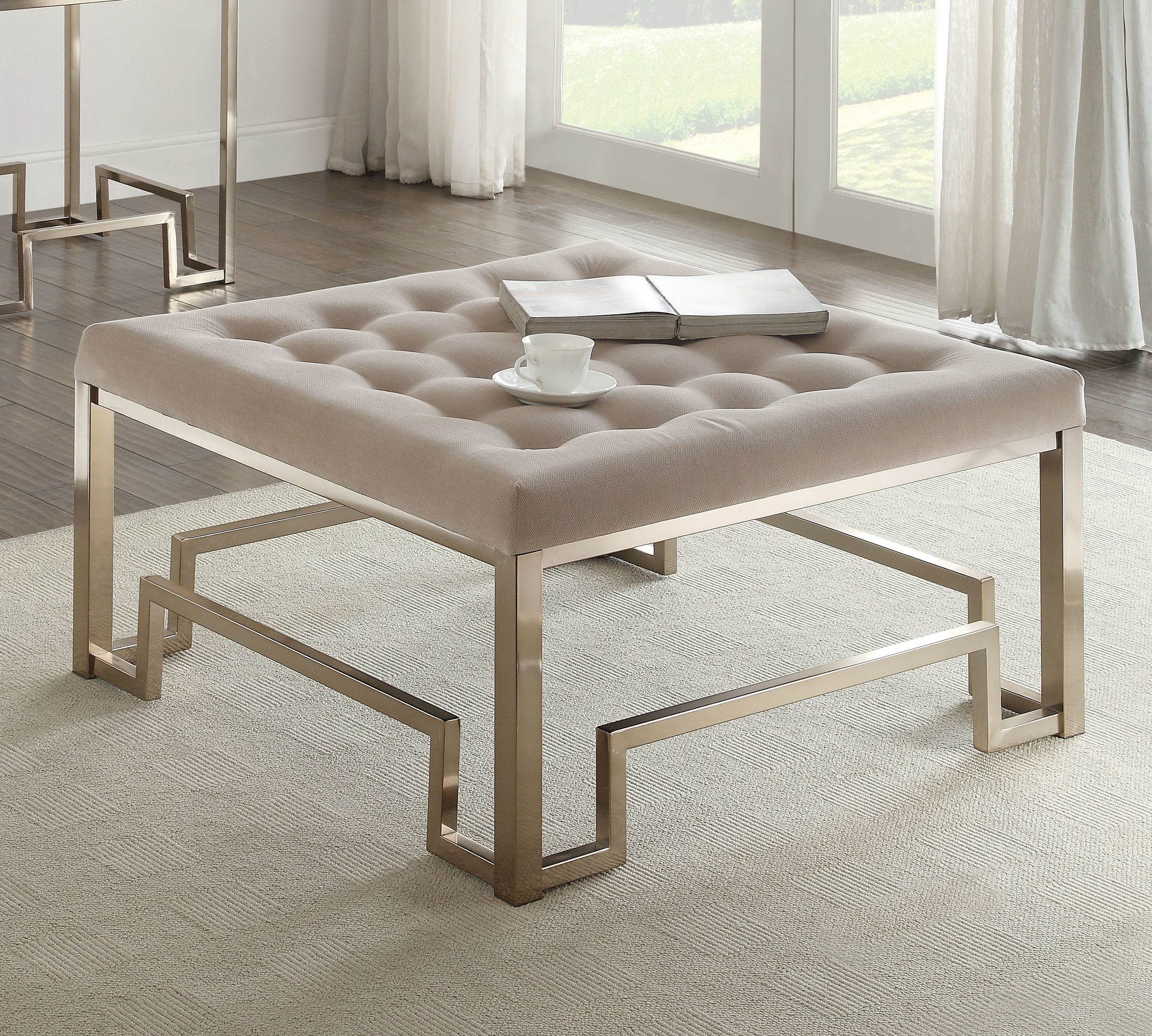 Cullompt Fabric Coffee Table with regard to dimensions 2579 X 2319