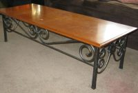 Custom Made Wrought Iron Coffee Table Mciron Custommade with regard to size 1920 X 1195