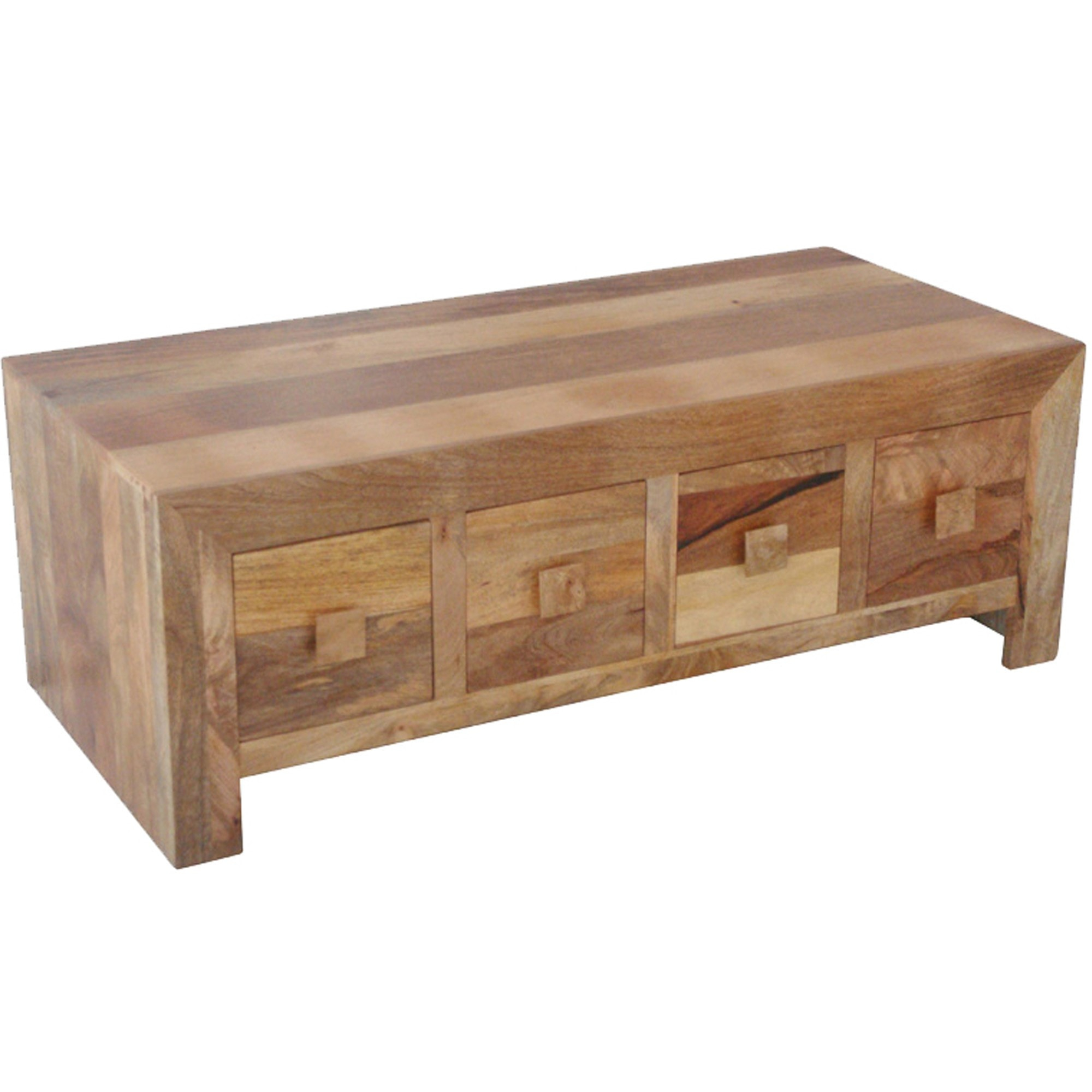Dakota 8 Drawer Coffee Table Wooden Coffee Table Wooden Indian for proportions 2000 X 2000
