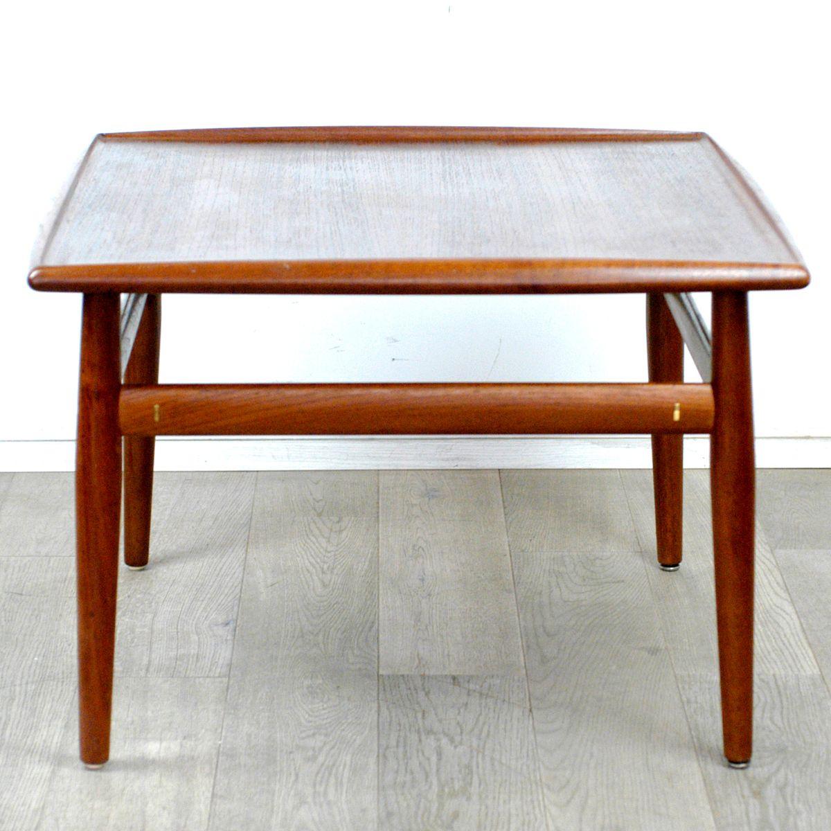Danish Teak Coffee Table Grete Jalk For France Sn 1960s For inside size 1200 X 1200
