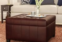 Dar Home Co Francisville Leather Storage Ottoman Reviews Wayfair intended for measurements 2000 X 2000