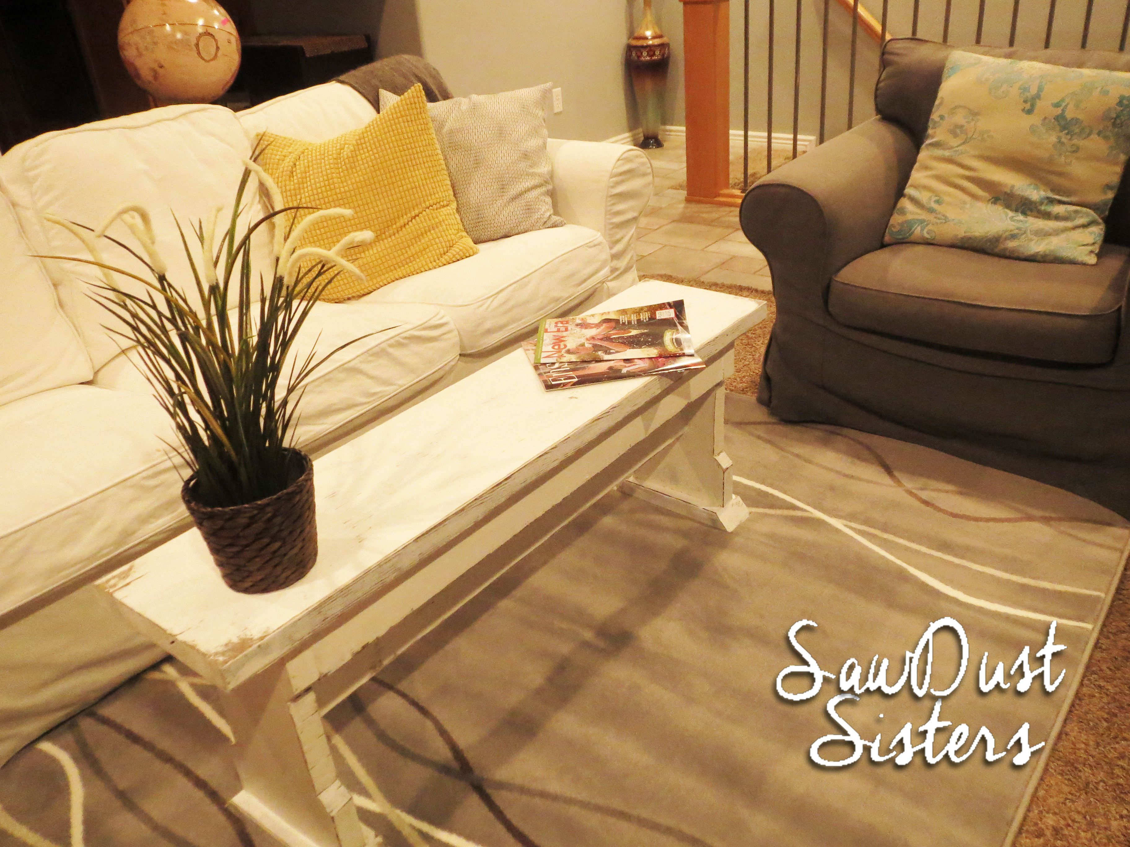 Diy Coffee Table Or Bench Coffee Table Diy Inspiration Narrow pertaining to sizing 3648 X 2736