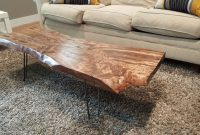 Diy Live Edge Wood Coffee Table Diy And Haus Decorations Rustic regarding dimensions 5312 X 2988