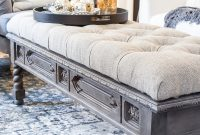 Diy Ottoman Bench From A Repurposed Coffee Table Blesser House throughout size 1000 X 1500