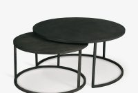 Double Stack Coffee Table Circular Nesting Iron Tables Th2studio pertaining to measurements 1200 X 1200