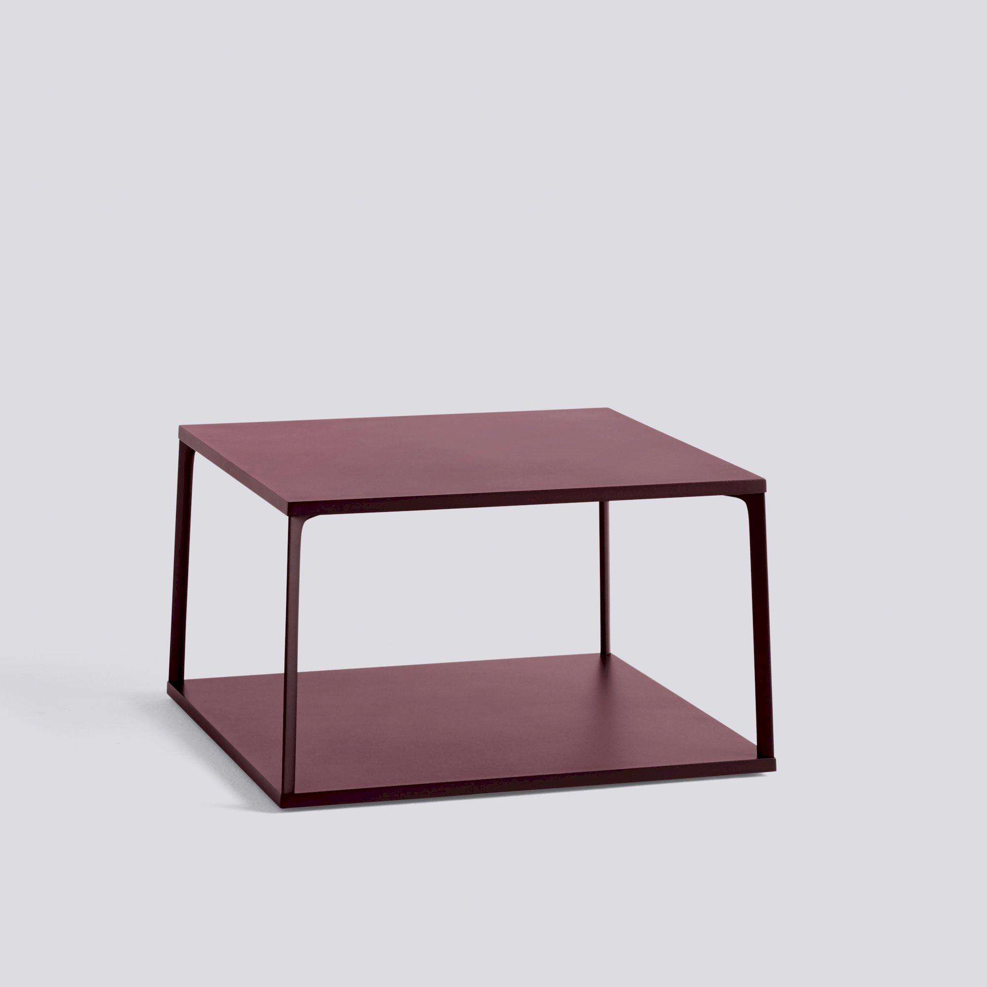 Eiffel Coffee Table Square Dark Brick Hay within measurements 2000 X 2000