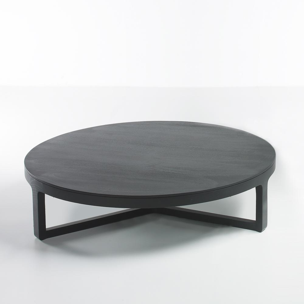 Ema Coffee Table Large Round Oak Jane Hamley Wells for measurements 1000 X 1000