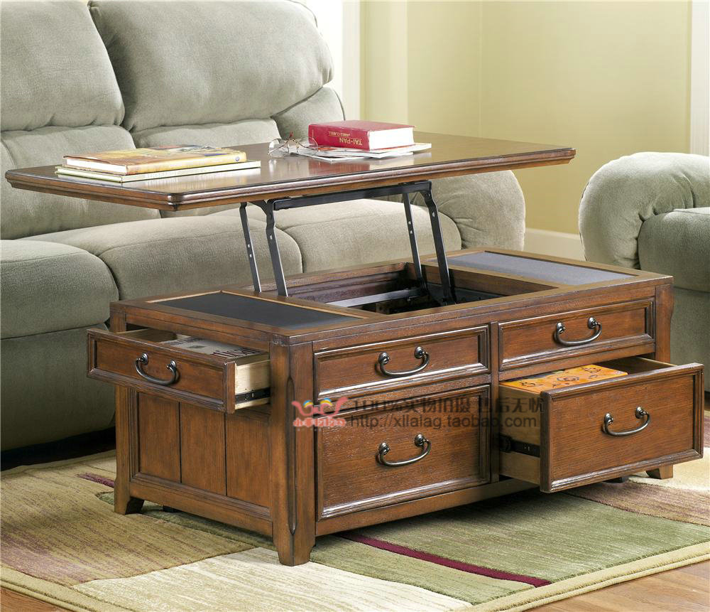 Export The Original Single Wood Storage Coffee Table Stylish pertaining to sizing 1000 X 861